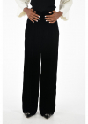 Fendi Velvet Wide Leg Pants
