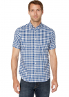 Classic Fit Wrinkle Resistant Plaid Woven Shirt