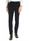 Corduroy Trousers In Blue