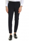Urban Traveler Trousers In Blue And Black