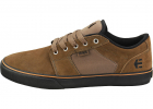 Barge Ls Skate Trainers In Olive Black