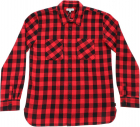 Buffalo Shirt In Black And Red