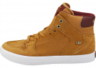 Vaider Casual Trainers In Tan Wine White