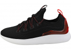 Factor Fashion Trainers In Black Red
