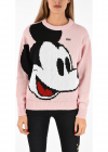 Mickey Mouse Embroidered Sweater
