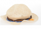 Jute Hat With Application