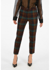 Etro Wool Checked Pants