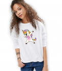 Bluza Dama Alba Cool Unicorn