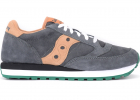 Jazz Sneaker Made Of Gray And Orange Suede