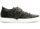 Square Buckle Nappa Sneakers