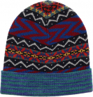 Multicolor Fairsle Stitch Knitted Beanie