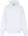 Hoodie With Gothic Logo