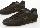 Leather Fabric Olympia Slash Sneakers