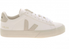 Campo Chromefree Sneakers In White And Ecru