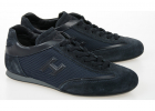 Fabric And Leather Olympia Slash Sneakers
