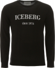 Pullover With Logo Intarsia
