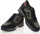 Fabric And Leather New Interactive Sneakers