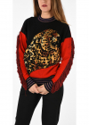 Wool And Cashmere Blend Sweater With Embroidery And Fringe