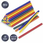 Set Batoane Colorate De Lipici Fierbinte Trotec  50 Bucati  Ø 7 Mm