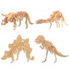Puzzle Din Lemn 3d Dinozaur