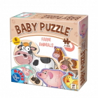 Puzzle Baby Farm Animals 2+