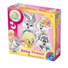 Puzzle Baby Looney Tunes Pink 2+