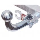 Carlig de remorcare pentru HYUNDAI H 1 din 98-07 semidemontabil Galia   Omologat RAR + Instalatie electrica 7 pini