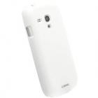 Husa Capac Spate Color Cover Alb Samsung Galaxy S3 Mini