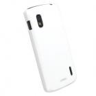 Husa Capac Spate Color Cover Alb Google Nexus 4