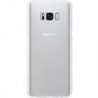 Husa Capac Spate Clear Cover Argintiu Samsung Galaxy S8 Plus