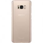 Husa Capac Spate Clear Cover Roz Samsung Galaxy S8 Plus