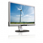 Monitor 22 Inch Lcd  Philips 225pl  Silver & Black