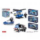 Joc De Construit Politie   Vehicule 6+
