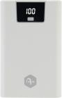 Baterie Externa A+ 10000 Mah  2x Usb  1x Usb c  2.1a  White
