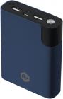 Baterie Externa A+ 10000 Mah  2x Usb  2.1a  Blue
