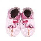 Pantofi Bebelusi Pink Flamingo Rose