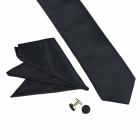 Cravata Neagra Set Peale