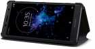 Sony Husa protectie tip Book SCSH50 Style Stand Black pentru Xperia XZ2 Compact