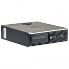 Hp 8000 Elite Intel C2d E7500 2.93 Ghz  4 Gb Ddr 3  250 Gb Hdd  Dvd rom  Sff  Windows 10 Pro Mar