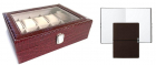 Set Cutie 10 Ceasuri Croco Elegance Si Note Pad Burgundy Hugo Boss