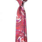 Cravata Paisley Matase Naturala Como