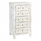 Comoda Drawers Sea Worn White Wood   Metal 48 X 34 50 X 90 50 Cm