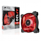 Cooler Carcasa Corsair Af120 Led Red Quiet Edition High Airflow  120x25mm  3pin  Twin Pack