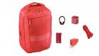 Hama Rucsac Notebook 15.6 Inch Munich Echipat Complet Red