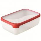 Cutie Pentru Alimente Curver  Capacitate 4 Litri  Plastic  Garnitura Silicon  Seria Grand Chef
