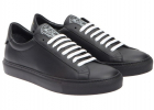 Givenchy Black Leather Sneakers