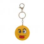 Breloc Rotund  Smiley Face