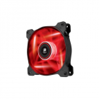 Cooler Carcasa Corsair Af120 Led Red Quiet Edition High Airflow  120x25mm  3pin