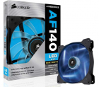 Cooler Carcasa Corsair Af140 Led Blue Quiet Edition High Airflow  140x25mm  3pin