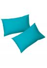 Set 2 Fete De Perna  50x 70 Cm   100% Bumbac   Albastru